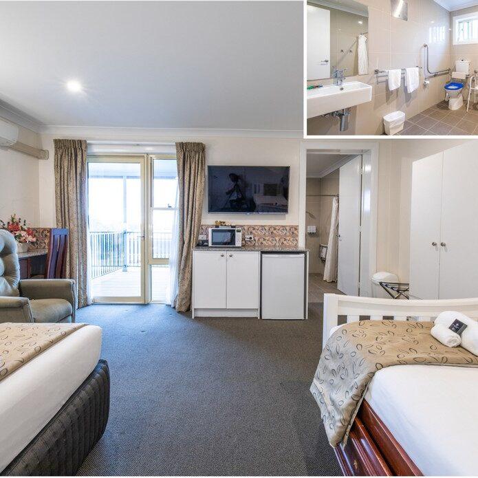 Comfort Disabled Queen room